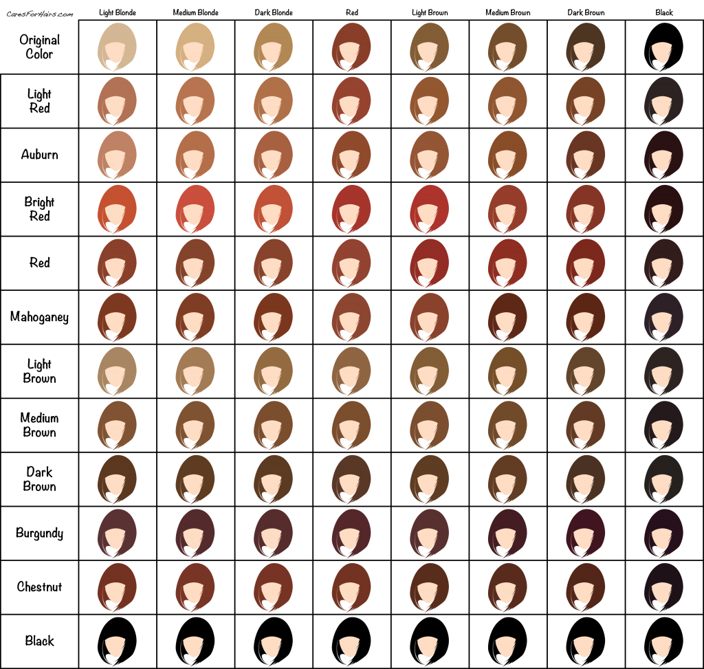 favorite hair color charts hair extension news product