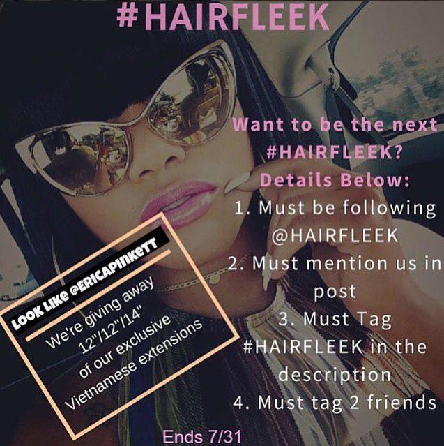 Hair Giveaway Winner Initial Review Video Hairfleek Extensions
