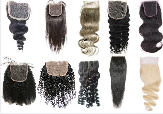 Lace Closure textures/ curl patterns